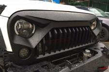 Sportowy Grill, model FURY, bez logo : Jeep Wrangler JK 2007+