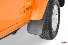 Przednie błotniki, chlapacze z logo Jeep : 07-17 Jeep Wrangler JK