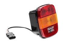 Lampa tylna, wersja europejska : 97-06 Jeep Wrangler TJ