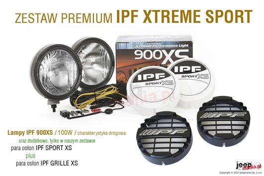 Reflektory przednie IPF 901XSD