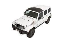 Dach miękki Sunrider, w miejsce fabrycznego panelu Sun Top : 07-17 Jeep® Wrangler & Wrangler Unlimited JK
