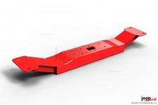 Belka HD pod skrzynię biegów obniżona, czerwona : Jeep Cherokee XJ 4,0 Automat