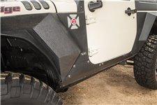 Steel Body Armor Cladding : 07-17 Jeep Wrangler JK