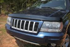 Owiewka maski. Przydymiony : 99-04 Jeep Grand Cherokee WJ