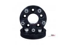 Wheel Adapter Kit, 1.375 Inch, 5x5 to 5x5.5 Bolt Pattern