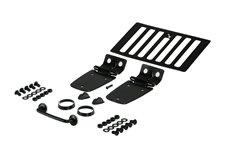 Zestaw stylizacji maski, stal, czarny : 98-06 Jeep Wrangler TJ