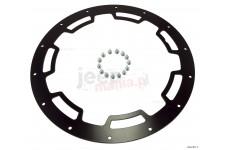 Pierścień ochronny do felgi XHD, 18 cali, czarny satynowy : 07-17 Jeep Wrangler JK