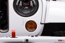 Kierunkowskazy LED – Model 239 J2 Series, pomarańczowe klosze : 07-17 Jeep Wrangler JK