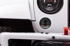 Kierunkowskazy LED – Model 239 J2 Series, jasne klosze : 07-17 Jeep Wrangler JK