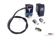 Elektryczny przełącznik blokady dyferencjału : dla systemu pneumatycznego
