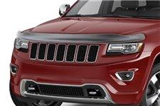 Owiewka maski, czarny mat : 11-14 Jeep Grand Cherokee