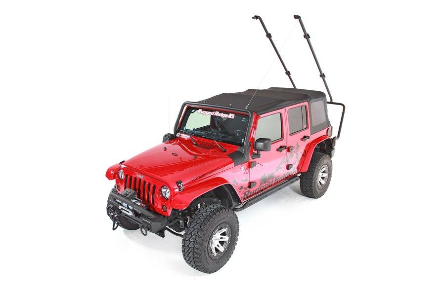 Bagażnik dachowy Sherpa : 07-17 Jeep Wrangler Unlimited JK