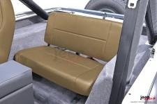 Tylna kanapa, nie rozkładana, Nutmeg : 55-95 Jeep CJ/Wrangler YJ