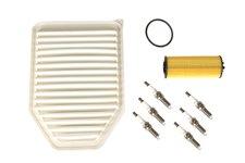 Zestaw naprawczy układu zapłonowego, filtry, 3.6L : 12-17 Jeep Wrangler JK/JKU