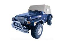 Plandeka, szara : 92-06 Jeep Wrangler YJ/TJ