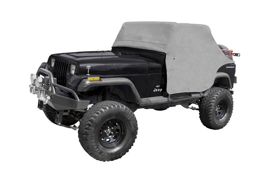 Cab Cover, Gray : 87-91 Jeep Wrangler YJ