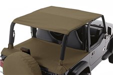 Roll Bar Top Header, Khaki Diamond : 97-06 Jeep Wrangler TJ