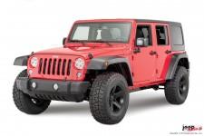 Zestaw poszerzeń nadkoli o zwiększonym prześwicie : 07-17 Jeep Wrangler Unlimited JKU