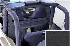 Przegroda kabiny, osłona od wiatru, Black Diamond : 80-06 Jeep CJ/Wrangler YJ/TJ