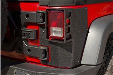 Osłony tylnich narożników serii XHD Corner Guard : 07-18 Jeep Wrangler JKU, 2 drzwiowy