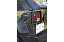 Osłony tylnich narożników serii XHD Corner Guard : 07-18 Jeep Wrangler JKU, 4 drzwiowy