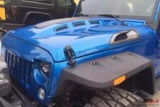 Maska wyczynowa, wentylowana, model AVENGER : 07-17 Jeep Wrangler JK