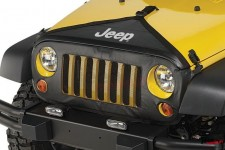 Zestaw osłon przednich z materiału, na grill i maskę : 07-18 Jeep® Wrangler & Wrangler Unlimited JK/JKU