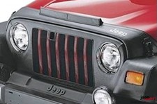 Front End Cover in Black : 96-06 Jeep® Wrangler TJ & Wrangler Unlimited LJ