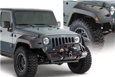 Poszerzenia nadkoli przednich, Jeep Factory Coverage Pocket Style : 07-17 Jeep Wrangler JK/JKU 2D/4D