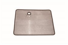 Radiator Bug Shield, Stainless Steel : 87-95 Jeep Wrangler YJ