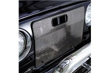 Radiator Bug Shield, Stainless Steel : 97-06 Jeep Wrangler TJ