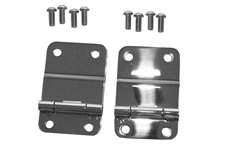 Tailgate Hinges, Stainless Steel : 76-86 Jeep CJ Models