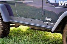 Osłony progów HD, wzmocnione : 97-06 Jeep Wrangler TJ