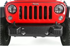 XHD Front Bumper Base, Tow Point Covers : 07-17 Jeep Wrangler JK
