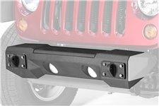 Zderzak przedni serii All Terrain Front w zestawie z płytą wyciągarki : 07-18 Jeep Wrangler JK