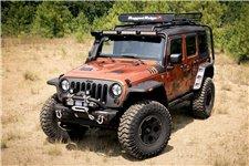 Hurricane Flat Fender Flare Kit : 07-17 Jeep Wrangler JK