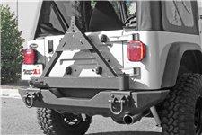 Mocowanie koła zapasowego na tylny zderzak XHD : 76-06 Jeep CJ/Wrangler YJ/TJ