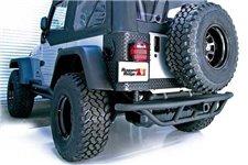 """Tylny zderzak RRC, 2"""" gniazdo haka, 87-06 Jeep Wrangler YJ/TJ"""