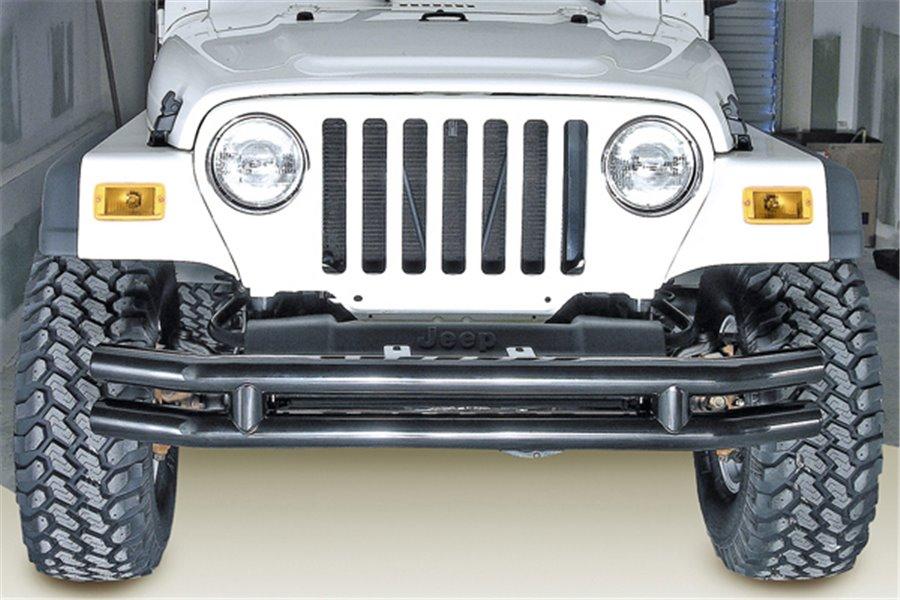 Zderzak podwójny rurowy, średnica 3 cale, 76-06 Jeep CJ/Wrangler YJ/TJ