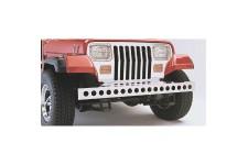 Zderzak przedni ze stali nierdzewnej z otworami : 87-95 Jeep Wrangler YJ