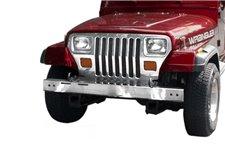 Zderzak przedni ze stali nierdzewnej : 87-95 Jeep Wrangler YJ