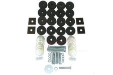 Body Tub Mounting Kit : 41-75 Willys/Jeep