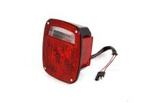 Right Black Tail Lamp : 81-86 Jeep CJ Models