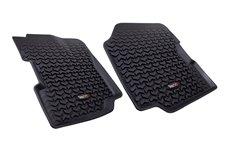 Floor Liners, Front, Black : 76-95 Jeep CJ5/CJ7/CJ8/Wrangler YJ